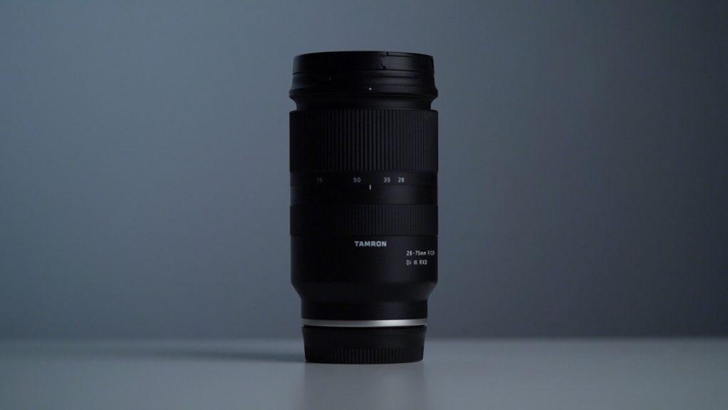 Vista generale Tamron 28-75mm f2.8 Sony Recensione